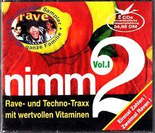 NIMM 2 -VOL I -The Best Of Techno & Rave Tracks 2-CD (Nostrum/Semisphere)