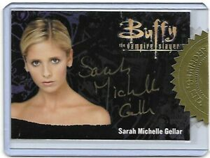 Buffy Ultimate Collector's Set Series 3 Autograph Card, Metal, Sketch - Choose
