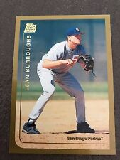 1999 Topps Traded Sean Burroughs San Diego Padres T40