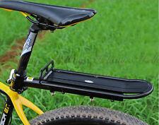 Mountain Road Bicycle Bike MTB Fast Release Alloy Rear Rack Panniers Fender BLK