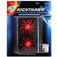 "EverCool HD-F117 NightHawk Internal 3.5"" Hard Disk Drive HDD Aluminum Cooler Fan"