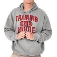Training Movie Marathon Funny Shirt TV Show Hoodies Sweat Shirts Sweatshirts