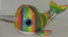 """New! Summer 2018 TY NORI the Norwhal Medium Buddy 9"""" size"""