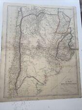 More details for 1834 la plata banda oriental chile j arrowsmith map the london atlas antique