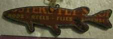 Christmas Ornament Sign (Muskie Fish sign) Midwest CBK-rustic look