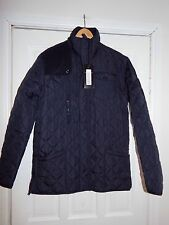 Bnwt Soul Star Navy Quilted Coat In Size Large