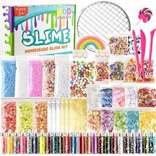 61 Packs Slime Making Supplies Kit,Including Fishbowl Sugar Paper Grid + more