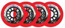 Powerslide Inline Rollen Hurricane Red 80mm 85a 8er-satz
