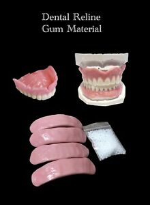 Do It Yourself Reline Denture Adhesive Gum  Denture Supplies Oral Care