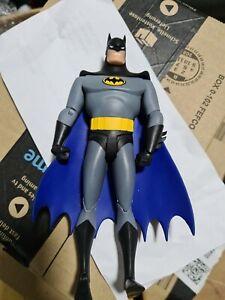 Dc Comics  Batman Animated Batman Action Figure. Scratch to his head