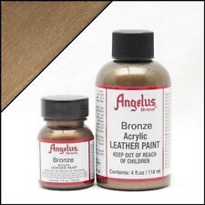 Angelus Acrylic Leather Paint Bronze 4oz Colour Shoes/Sneakers Water Resistant