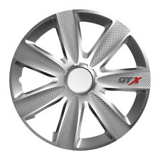 Universal Tapacubos GTX Plata 14 Pulgadas para Nissan Modelos