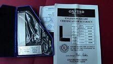 """EQUERRE SIMPLE de Précision  75mm/3"""" Grade B ; OXFORD avec CERTIFICAT"""