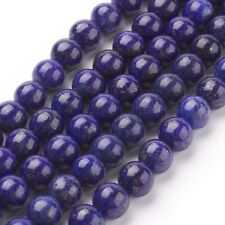 Denim Lapis Lazuli Faceted Round Beads 6mm Blue 62 Pcs Dyed  Gemstones Crafts