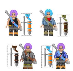 Dragon Ball Z Son Goku Bulma Tianxin Building Block Toy Children Boy Gift