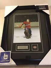 Ken DRYDEN Montreal Canadiens unsigned Hockey Frame Cadre Great Save Cup Habs !!