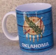 Coffee Mug Explore America Oklahoma State Flag NEW 11 ounce cup with gift box