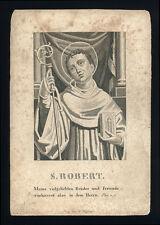 santino incisione 1800 S.ROBERTO