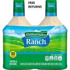 📌Hidden Valley The Original Ranch Dressing 40 fl. oz, 2 pk FRESH- FREE RETURNS