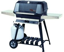 MHP WNK Natural Gas Grill W/ Stainless Steel Grids On Portable Cart