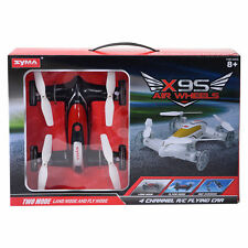Syma X9S 2.4G 4CH 6-Axis RC Flying Car Remote Control Quadcopter 3D Land Sky BLK