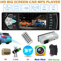 "4"" 1 DIN Auto Radio mp5 Player FM Stereo Bluetooth AUX USB TF Fernbeidienung"
