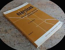200 Exercices de Mathématiques Générales, Cours conservatoire National des Arts