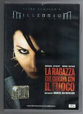 dvd LA RAGAZZA CHE GIOCAVA CON IL FUOCO Michael NYQVIST Noomi RAPACE