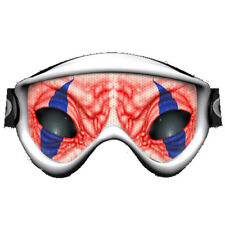 Clown Circus Eyes Ski Dirt Bike MX Off Road Lens Goggle Sticker Tint Decal NEW +