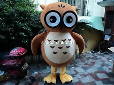 Owl Adult Mascot Costume Fancy Dress Outfit Halloween Easter Birthday party game