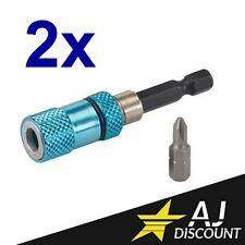 2x Porte embout magnétique Placo / Cloison sèche avec butée de profondeur