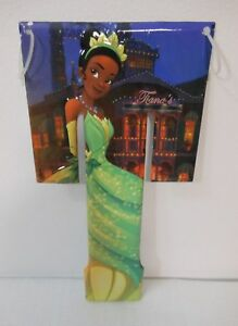 2016 Disney Princess And The Frog LETTER T TIANA Alphabet Metal Sign Wall Decor