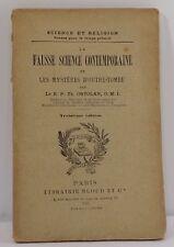 T. Ortolan, La fausse science contemporaine et mystères d'outre-tombe, 1903