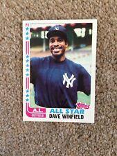 +++ DAVE WINFIELD 1982 TOPPS BASEBALL CARD #553 - NEW YORK YANKEES +++