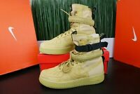 Nike SF AF1 High Club Gold Wheat Special Force 864024-700 Multi Size