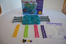 Number Rings Discovery Toys Develops Math & Analytical 100% Complete 2002