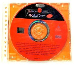 AMERICAN GREETINGS- CREATACARD Special Edition WIN 95/98/CD-ROM