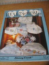 Hearts from Home Cross Stitch Chart Stoney Creek USA 6 borders