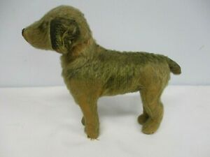 VERY EARLY ANTIQUE STEIFF DOG