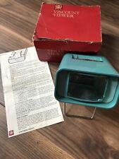 Vintage Paterson Viscount Slide Viewer with Original box For 35mm & 4 x 4 Slides