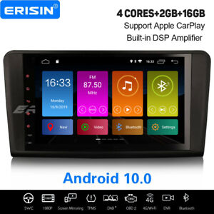 """9"""" Android 10.0 Mercedes Benz ML/GL-Class W/X164 DSP Car Stereo GPS WiFi CarPlay"""