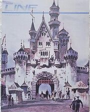 RARE JULY 1987 DISNEYLAND LINE CAST MEMBER NEWSLETTER 32ND ANNIVERSARY ISSUE
