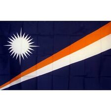 Marshall Islands Country flag Banner Sign 3' x 5 Foot Polyester Grommets