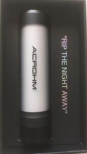ACROHM Fush Semi-Mech Mod Black  100% Authentic UK stock