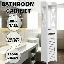 Bathroom Storage Cabinet Laundry Toilet Cupboard Assorted Shelf Drawer Furniture