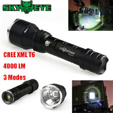 4000LM Cree T6 LED 3Modes Tactical Flashlight Torch Lamp Rechargeable 18650