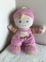 "BABYS MY FIRST 1st RAG DOLL PLUSH 10"" DOLLY SOFT TOY BY FISHER PRICE"