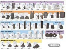 NEW Silverlon Lifesaver Antimicrobial  Silver Catheter Dressing 1.5 mm Qty 4