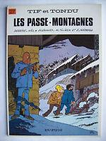 Tif et Tondu les passes montagnes Will Tillieux édition originale Dupuis 1979