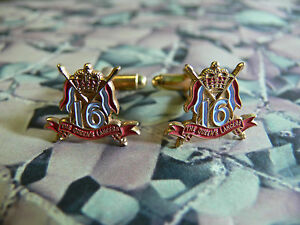 16th / 5th The Queens Royal Lancers Cuff Links